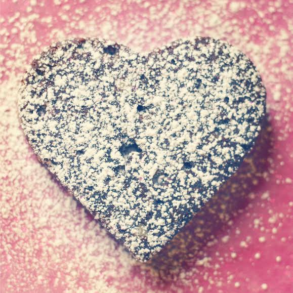heart-shaped brownie recipe